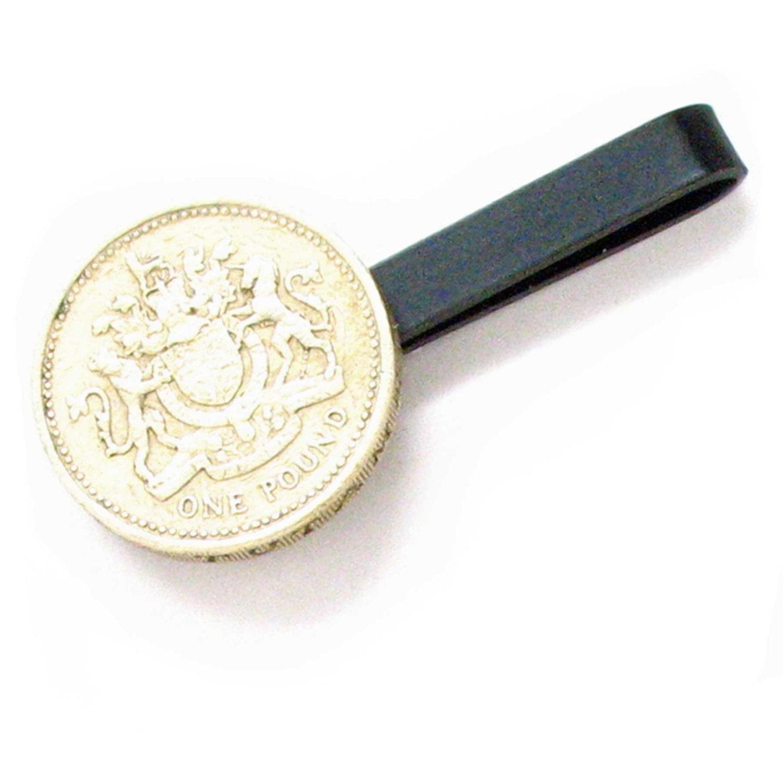 british crest tie bar clip coin crest tiebar tieclip money. Black Bedroom Furniture Sets. Home Design Ideas