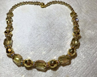 Gold On Gold Necklace