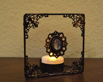 Antique Look Candle Holder