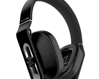 1More MK801 Over-Ear Headphones (Black) with In-Line Mic and Remote