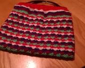 Hand Made Crochet Handbag