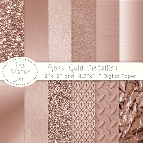 pink rose gold foil - photo #19