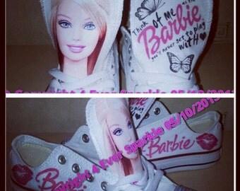 Barbie Custom Converse