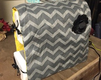 Homemade Sewing Machine Cover