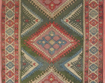 Turkey carpet Sultanabad-263x158 cm-hand-knotted (203,047)