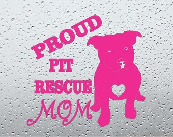 Proud Pit Bull Decals