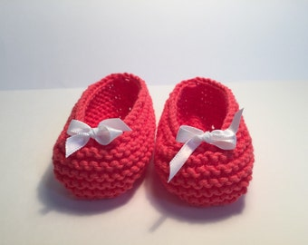 Mary Janes for baby hand woven in 100% cotton.