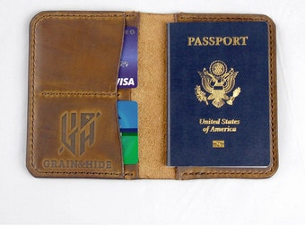 Horween Passport Case