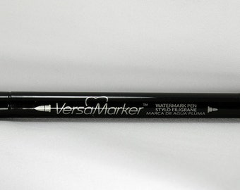 Versamark Watermark Ink Pen- Versamark Pen - Watermark Pen - Archival Watermark Ink - Archival Ink - Translucent Ink Pen - Versamark Pen