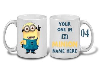 personalised minions mug