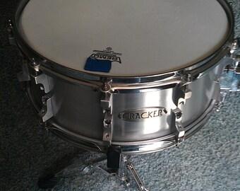 """6.5"""" x 14"""" 6061 t6 Aluminum Snare Drum"""