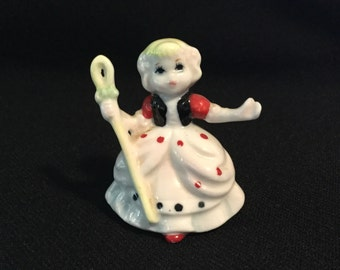 Antique Ceramic Little Bo Peep Figurine