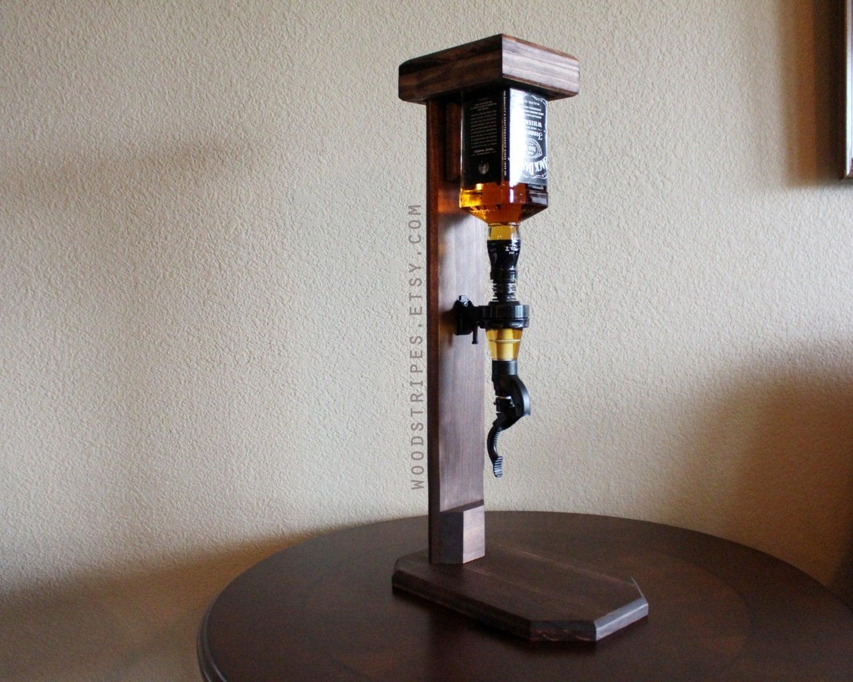 Single Shot Dispenser ~ Modern wood liquor single shot dispenser custom