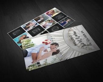 Married Christmas Card | Card | Wedding Card | Thank You Note | Thankyou Note | Thank you | Thankyou | Wedding Note | Christmas Card