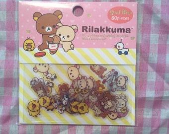 San-X Rilakkuma Sticker Sack Kawaii
