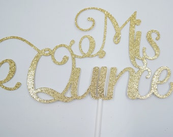 Mis Quince cake topper, 15th birthday party, aged cake topper, Quinceañera, fifteens