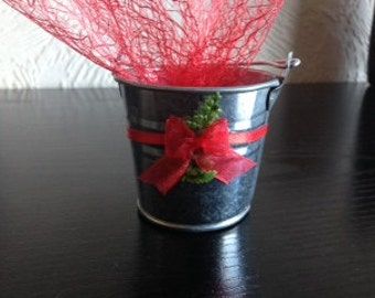Wedding Favours - Mini Bucket - Pack of 10