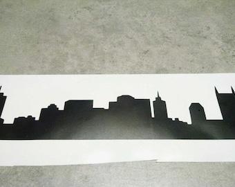 Nashville, Tennessee Skyline (Vinyl)