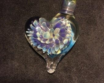 Spiral Heart Pendant