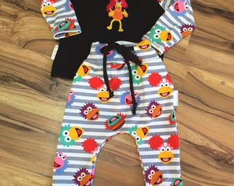 Size 12-18 month Cave Muppet Set
