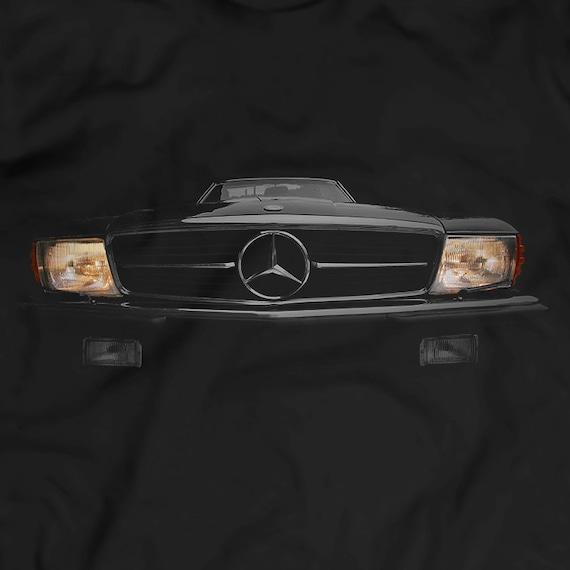 Women S Headlights : Mercedes benz sl r headlights glow t shirt women men