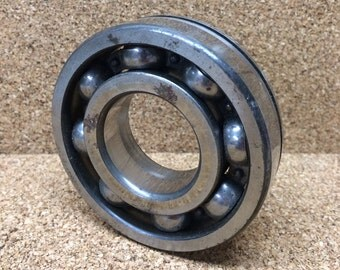 """Large Industrial Salvage Metal Bearing 3 3/8"""" Steampunk Art Supply Sculpture Assemblage Mixed Media Project"""