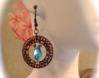 Vintaj Brass Briolette Earrings