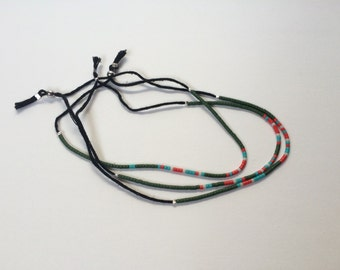 Morse Code Beaded Bracelet