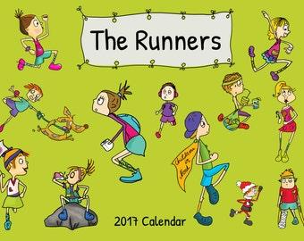 The Runners 2017 Calendar XMAS SALE