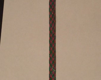 Christmas Ribbon Bookmark
