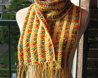Sunny summer scarf/sunny zomerdas