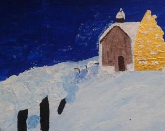 A Christmas Cabin