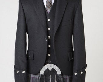 Economy Argyll jacket and waistcoat made to measure sale prices
