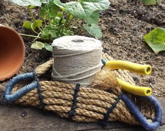 Three corner rope textile basket kit