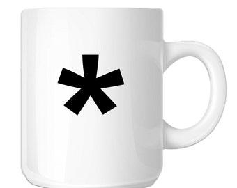 Keyboard Character Asterisk Symbol (SP-00779) 11 OZ Novelty Coffee Mug