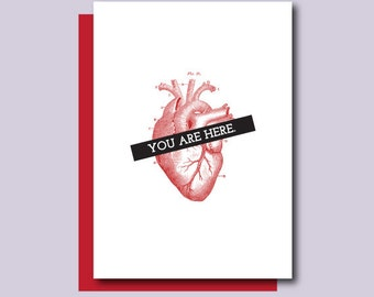 You Are Here Card