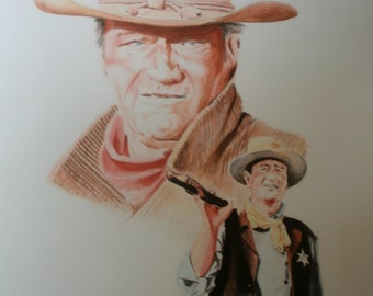 John Wayne Ltd. Edition Print