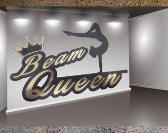 Beam Queen - Gymnastic Vinyl Decal