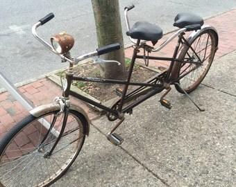 Schwinn Twin. Two person Bike. Around 1970.
