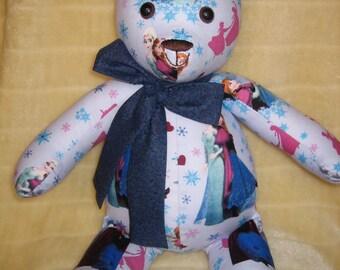 Frozen Teddy Bear