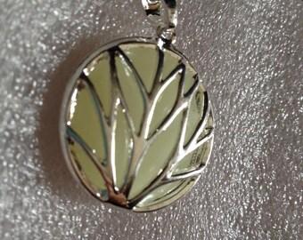 CIRCULAR branches WOMEN charm necklace