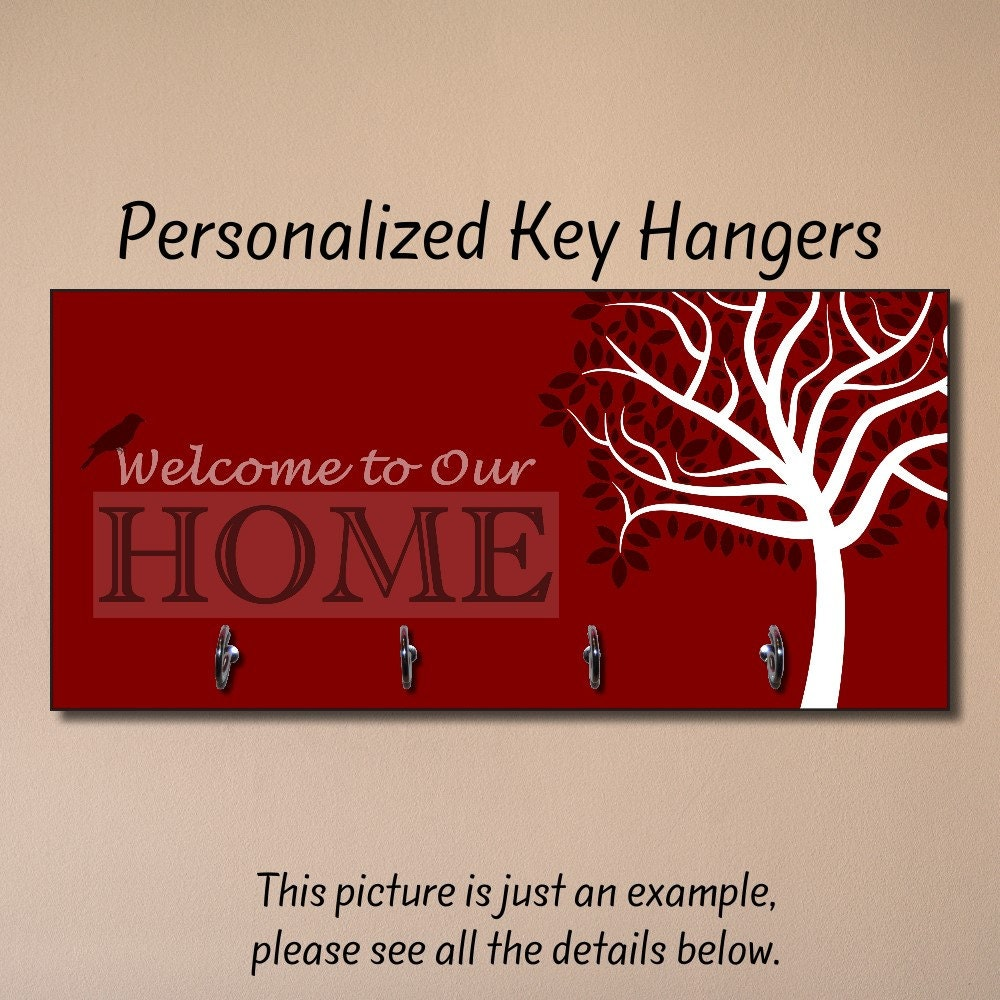 Personalized Housewarming Gift New Home Gift Key Holder Key