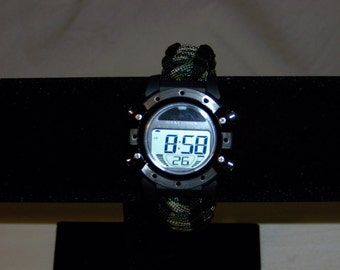 Paracord Solar Powered Watch, Men's