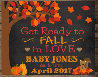 Fall baby, pregnancy photo, baby announcement, pregnancy announcement sign, pregnancy reveal, fall pregnancy announcement, autumn, fall preg