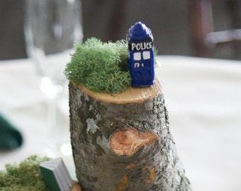 Doctor Who TARDIS Miniature - Polymer Clay