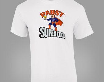 Pabst Blue Ribbon Super Cool Hero Beer Retro Vintage T-SHIRT