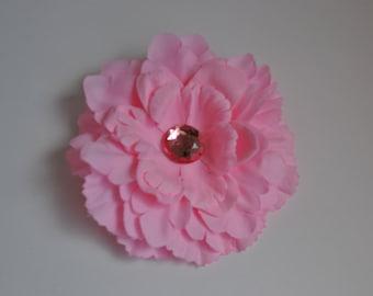 Beautiful Petal Flower with rhinestone center