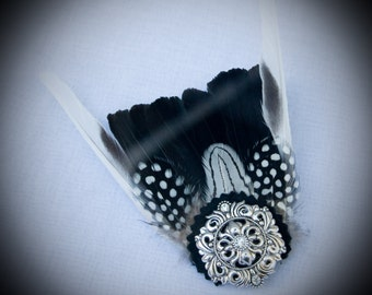 Tail Feather Hair Barrette