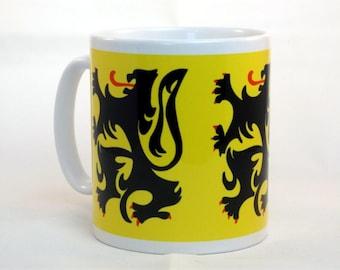 Lion of Flanders Cycling Mug