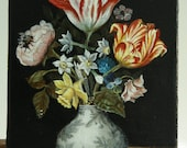 """Copy of painting Ambrosiusa Bosharta  """"Flowers in a chainis vase'"""
